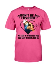 Don't be a Covidiot Classic T-Shirt thumbnail