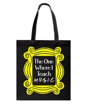 I Teach Music Tote Bag thumbnail
