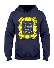 I Teach Music Hooded Sweatshirt thumbnail