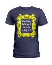 I Teach Music Ladies T-Shirt thumbnail