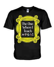 I Teach Music V-Neck T-Shirt thumbnail