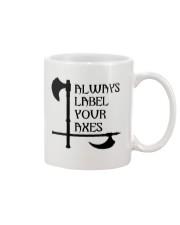 ALWAYS LABEL YOUR AXES Mug thumbnail