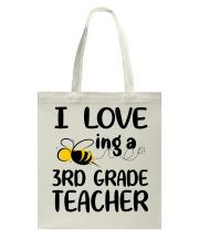 I Love being a 3rd grade Teacher Tote Bag thumbnail