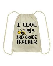 I Love being a 3rd grade Teacher Drawstring Bag thumbnail