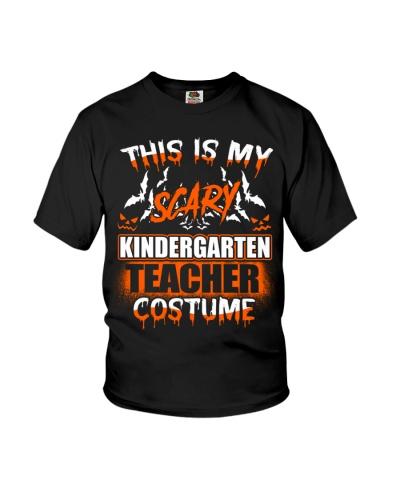 THIS IS MY SCARY KINDERGARTEN TEACHER COSTUME