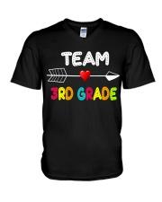 Team 3rd grade V-Neck T-Shirt thumbnail