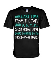 Dance One Last Time V-Neck T-Shirt thumbnail