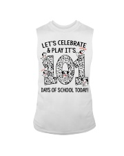 LET'S CELEBRATE AND PLAY IT'S 101 DAYS OF SCHOOL Sleeveless Tee thumbnail