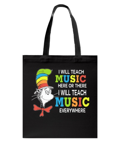 I WILL TEACH MUSIC EVERYWHERE
