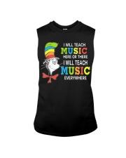 I WILL TEACH MUSIC EVERYWHERE Sleeveless Tee thumbnail