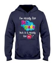 I'm ready for 5th Grade Hooded Sweatshirt thumbnail