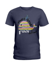 I Whaley i think 1st grade  Ladies T-Shirt thumbnail