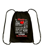 In music We are Family Drawstring Bag thumbnail