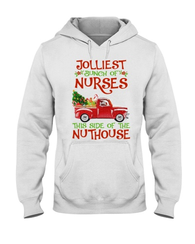 JOLLIEST BUNCH OF NURSES THIS SIDE OF THE NUTHOUSE