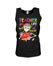 Teacher Life Got me feelin' Unisex Tank thumbnail