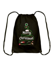 MERRY CHRISTMAS Drawstring Bag thumbnail