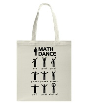 Math Dance Tote Bag thumbnail