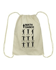 Math Dance Drawstring Bag thumbnail