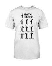 Math Dance Classic T-Shirt front