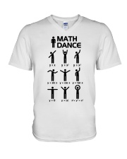 Math Dance V-Neck T-Shirt thumbnail