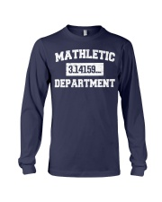 MATHLETIC DEPARTMENT Long Sleeve Tee thumbnail