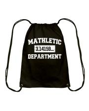 MATHLETIC DEPARTMENT Drawstring Bag thumbnail