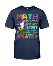 Math is to do Math Classic T-Shirt tile