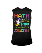 Math is to do Math Sleeveless Tee thumbnail