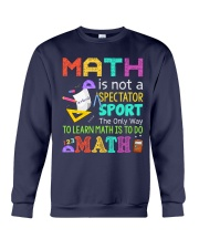 Math is to do Math Crewneck Sweatshirt thumbnail