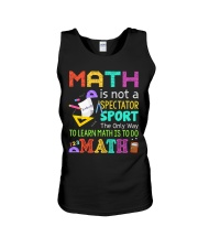 Math is to do Math Unisex Tank thumbnail