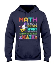 Math is to do Math Hooded Sweatshirt thumbnail