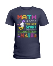 Math is to do Math Ladies T-Shirt thumbnail