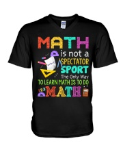 Math is to do Math V-Neck T-Shirt thumbnail