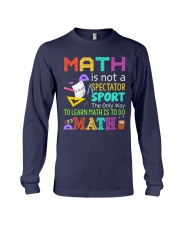 Math is to do Math Long Sleeve Tee thumbnail
