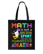 Math is to do Math Tote Bag thumbnail
