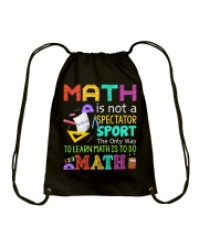 Math is to do Math Drawstring Bag thumbnail