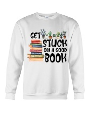Get Stuck on a Good Book T-Shirt Crewneck Sweatshirt thumbnail