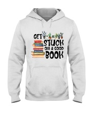 Get Stuck on a Good Book T-Shirt Hooded Sweatshirt thumbnail