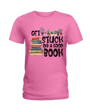 Get Stuck on a Good Book T-Shirt Ladies T-Shirt thumbnail