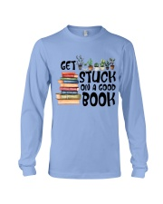 Get Stuck on a Good Book T-Shirt Long Sleeve Tee thumbnail