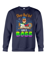 Show that test Who is Boss Crewneck Sweatshirt thumbnail