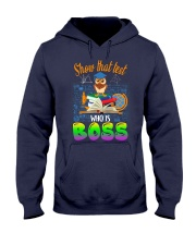 Show that test Who is Boss Hooded Sweatshirt thumbnail