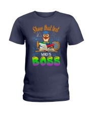 Show that test Who is Boss Ladies T-Shirt thumbnail