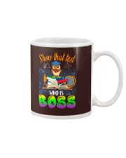 Show that test Who is Boss Mug thumbnail