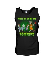 CHILLIN' WITH MY ZOMBIES Unisex Tank thumbnail