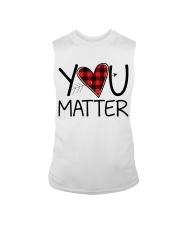You matter Sleeveless Tee thumbnail