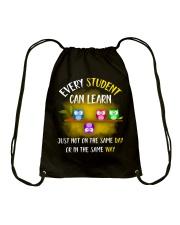 Teacher eyes Drawstring Bag thumbnail