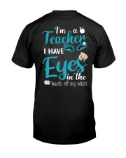 Teacher eyes Classic T-Shirt back