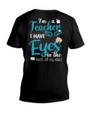 Teacher eyes V-Neck T-Shirt thumbnail