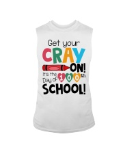 GET YOUR CRAYON IT'S THE 100TH DAY OF SCHOOL Sleeveless Tee thumbnail